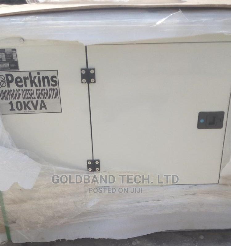 10kva Generator Perkins Engine Soundproof
