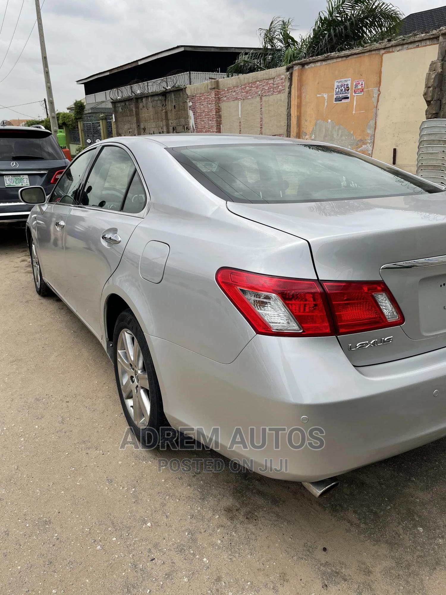 Lexus ES 2008 350 Silver | Cars for sale in Ifako-Ijaiye, Lagos State, Nigeria