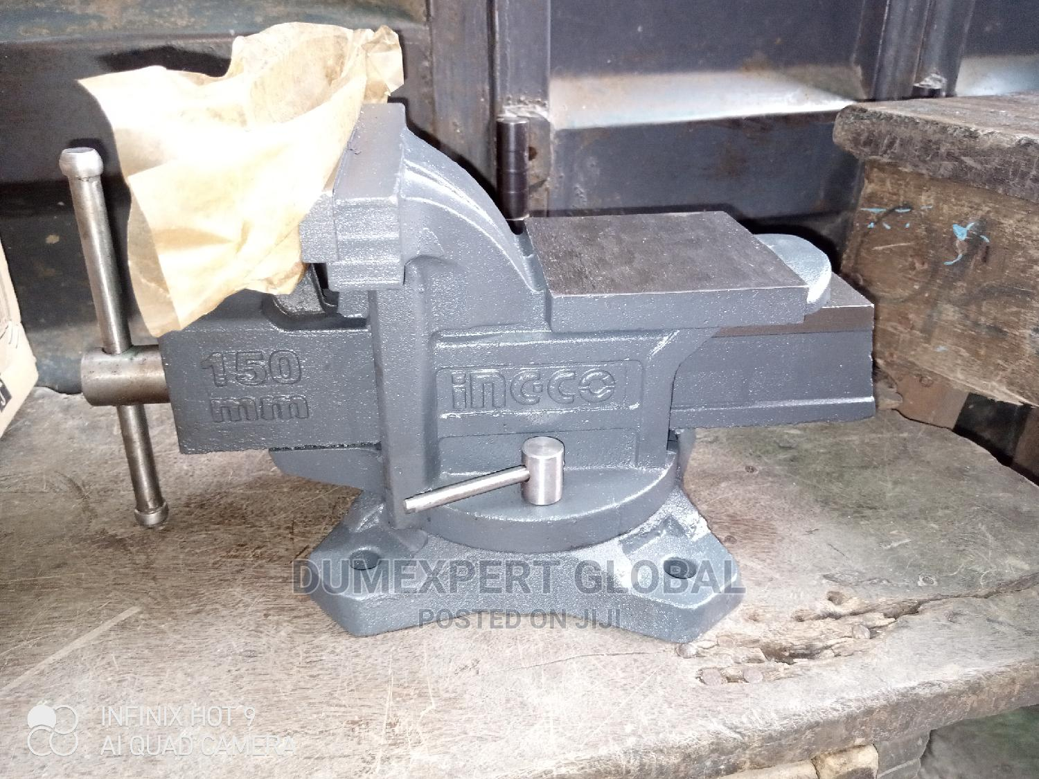 6 Inches (150mm) Ingco Bench Vice | Hand Tools for sale in Lagos Island (Eko), Lagos State, Nigeria