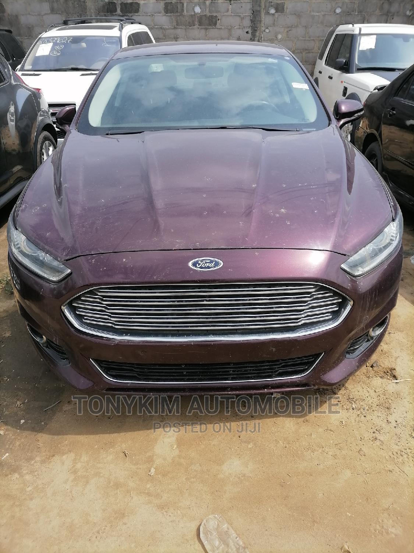 Ford Fusion 2013 Purple