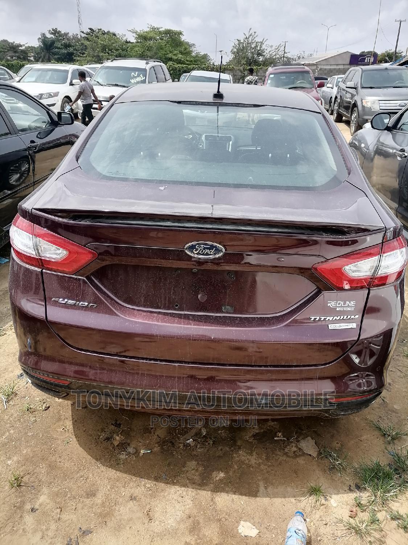 Ford Fusion 2013 Purple   Cars for sale in Amuwo-Odofin, Lagos State, Nigeria