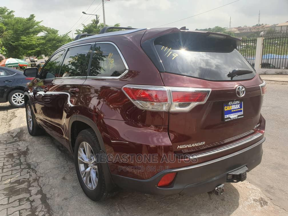 Toyota Highlander 2014 Red   Cars for sale in Magodo, Lagos State, Nigeria