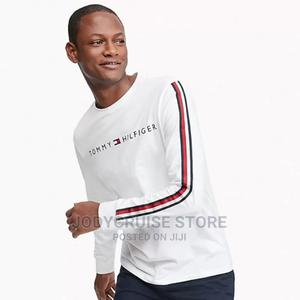 Tommy Hilfiger Long Sleeve T-Shirt   Clothing for sale in Lagos State, Ajah
