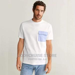 Mango Short Sleeve T-Shirt – White   Clothing for sale in Lagos State, Ajah
