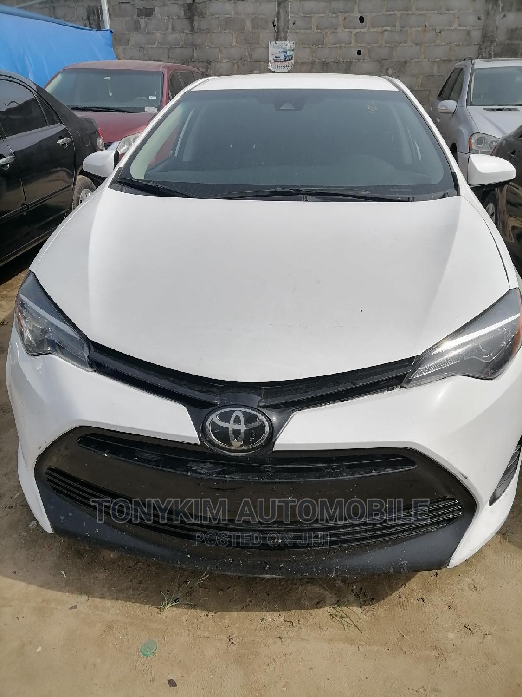 Toyota Corolla 2018 LE (1.8L 4cyl 2A) White   Cars for sale in Amuwo-Odofin, Lagos State, Nigeria