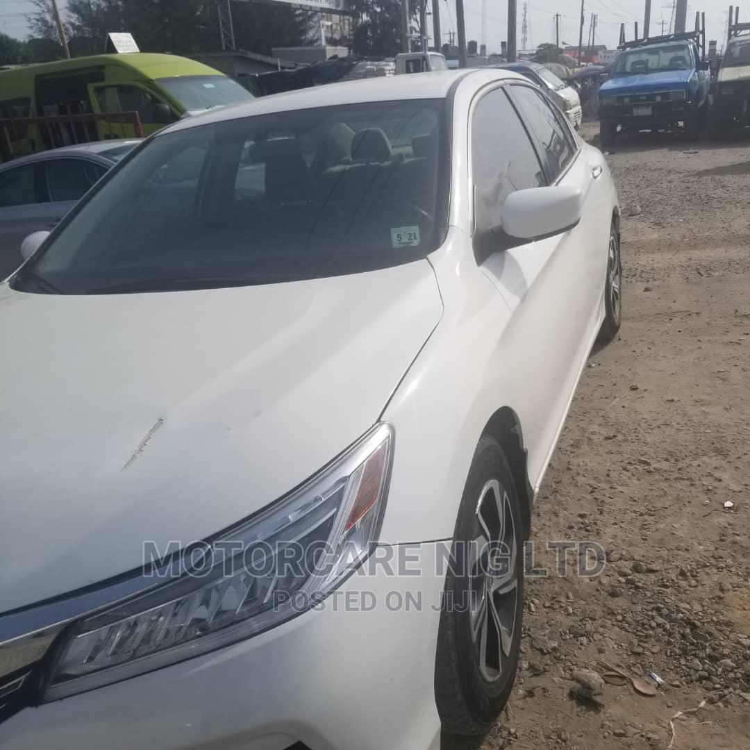 Honda Accord 2016 White   Cars for sale in Ajah, Lagos State, Nigeria
