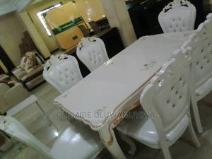 Royal Dinning Set Of Table And Chairs(White) Ace   Furniture for sale in Ogun State, Abeokuta North