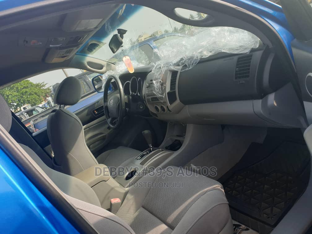 Toyota Tacoma 2007 Regular Cab Automatic Blue | Cars for sale in Apapa, Lagos State, Nigeria