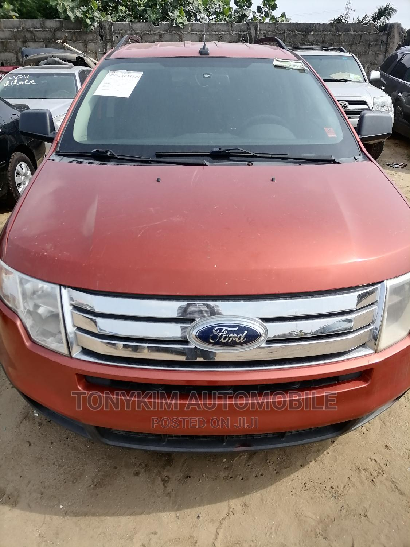 Ford Edge 2008 Orange