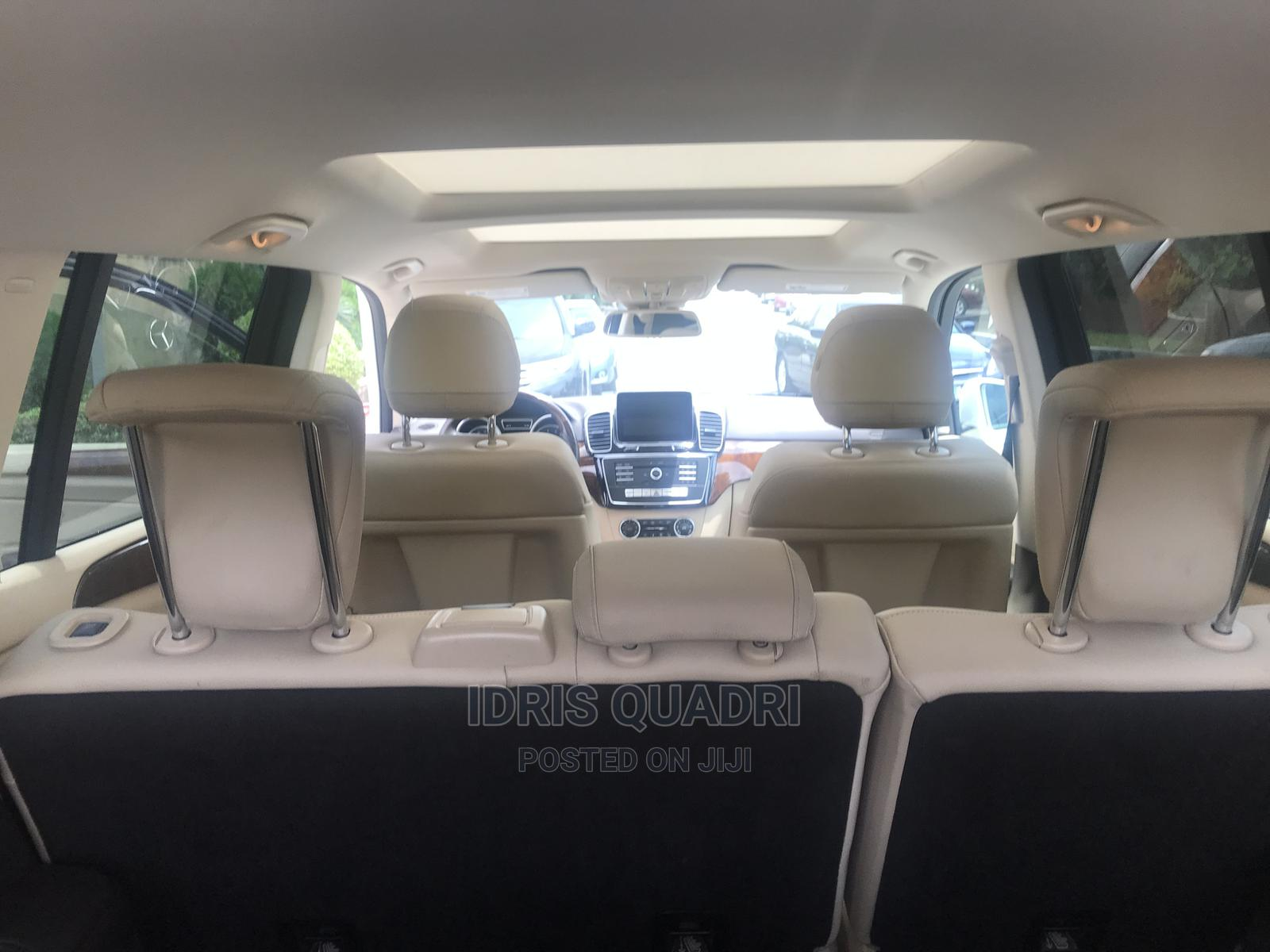 Mercedes-Benz GLS-Class 2017 GLS450 4Matic White | Cars for sale in Ikeja, Lagos State, Nigeria