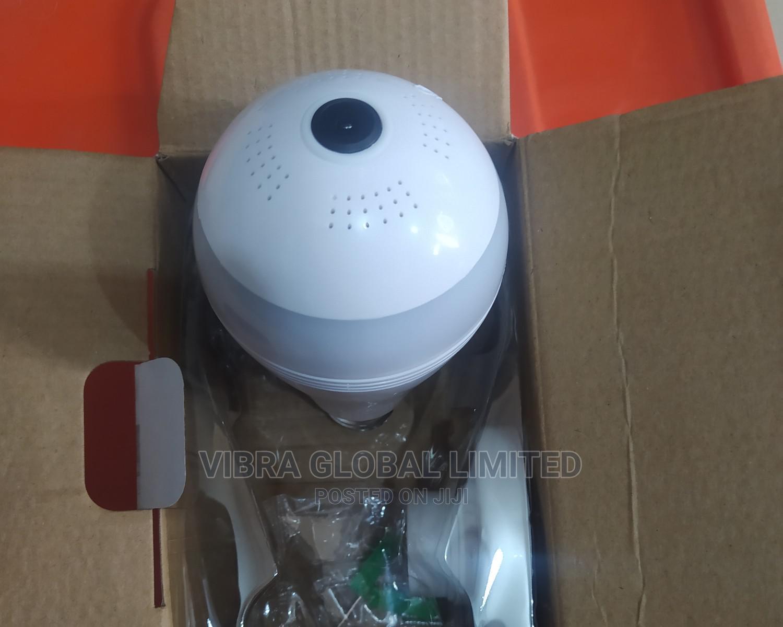 Bulb Wifi Smart Camera Spy CCTV Panoramic Camera 360°
