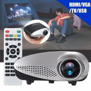 Generic Mini Projector With HDMI HD 1080P Builtin Speakers | TV & DVD Equipment for sale in Enugu State, Enugu
