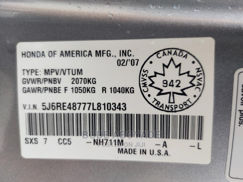 Archive: Honda CR-V 2007 2.0i Automatic Blue