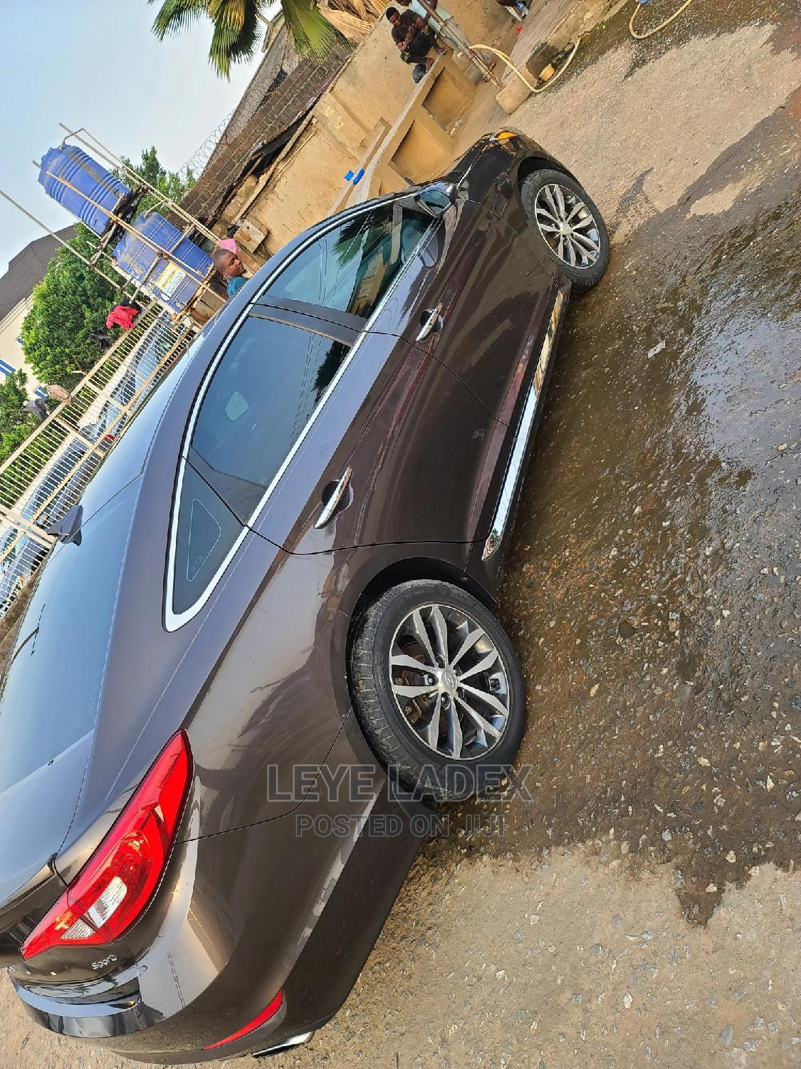 Hyundai Sonata 2015 Brown | Cars for sale in Ikeja, Lagos State, Nigeria