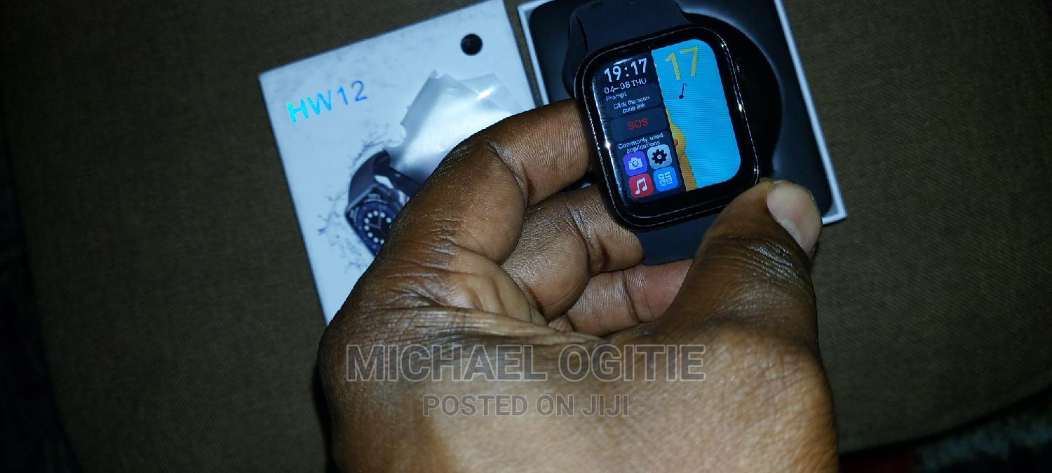 Brand New HW12 Dual Split Screen Smart Watch | Smart Watches & Trackers for sale in Port-Harcourt, Rivers State, Nigeria