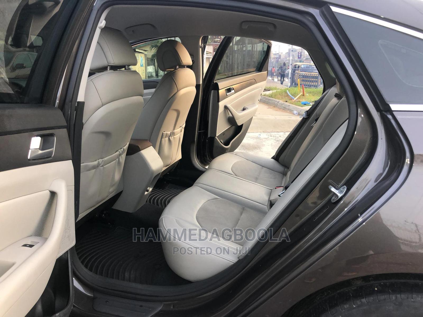 Hyundai Sonata 2015 Brown | Cars for sale in Ikeja, Lagos State, Nigeria