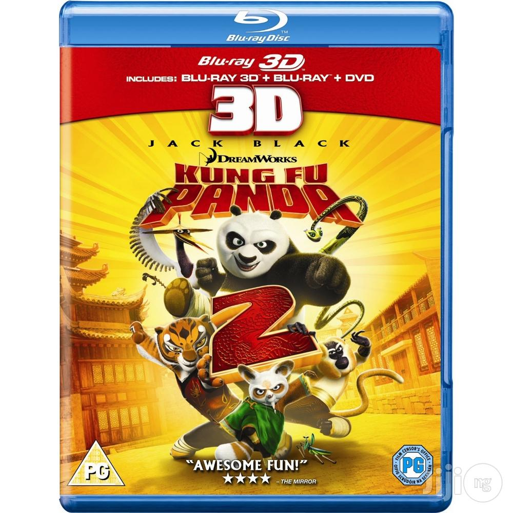 BRAND NEW Kung Fu Panda 2 [Blu-ray + DVD + Digital HD] [ORIGINAL]