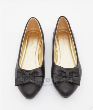 Flat Bow Front Ballerina Shoe (B-L-A-C-K)   Children's Shoes for sale in Lagos State, Ikeja
