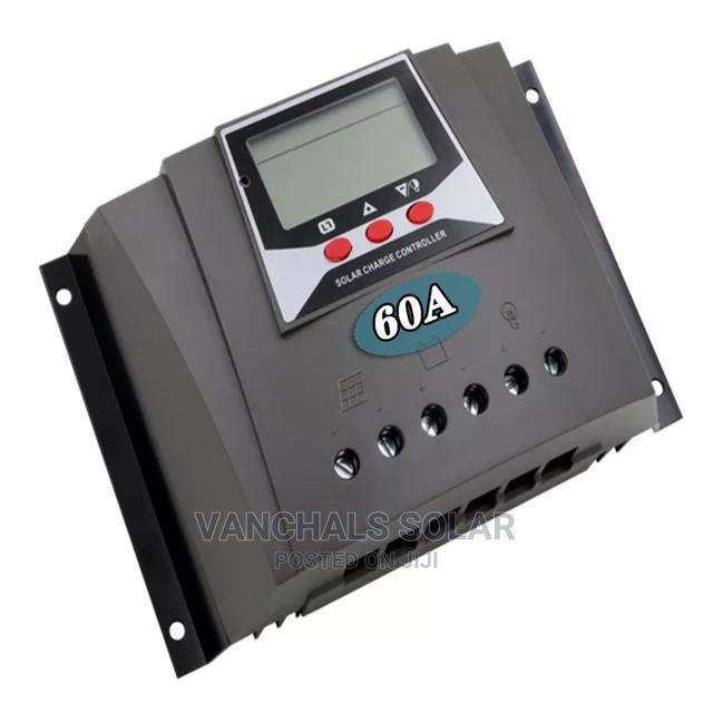 60a 12/24/36/48v PWM Solar Charge Controller