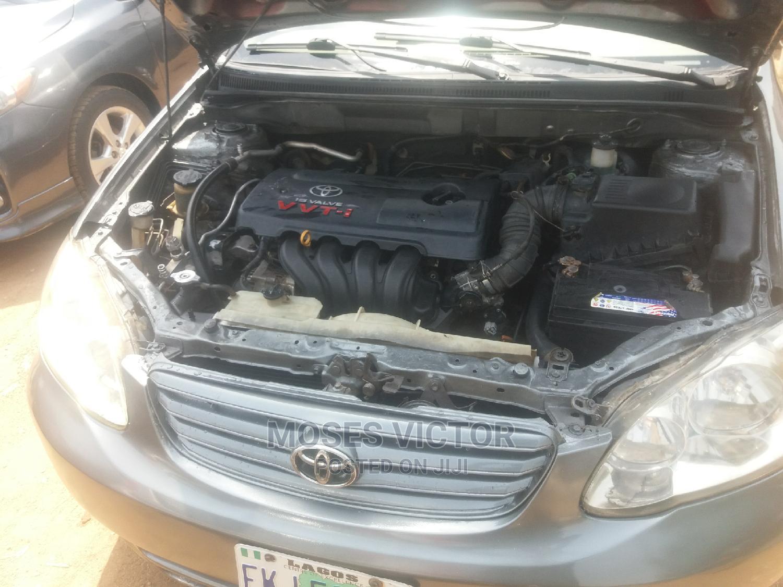 Archive: Toyota Corolla 2004 Sedan Automatic Gray