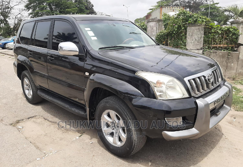 Toyota Land Cruiser Prado 2008 GXL Black | Cars for sale in Amuwo-Odofin, Lagos State, Nigeria