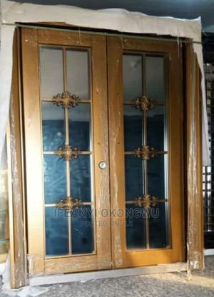 5ft Copper Swing Glass Door | Doors for sale in Lagos State, Orile