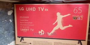 Original LG 4k 65 Inches Smart Tv   TV & DVD Equipment for sale in Lagos State, Abule Egba
