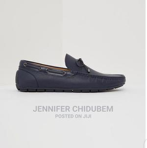 Bow Front Navy Blue Loafer's Sz45 for Sale!   Shoes for sale in Lagos State, Ikeja