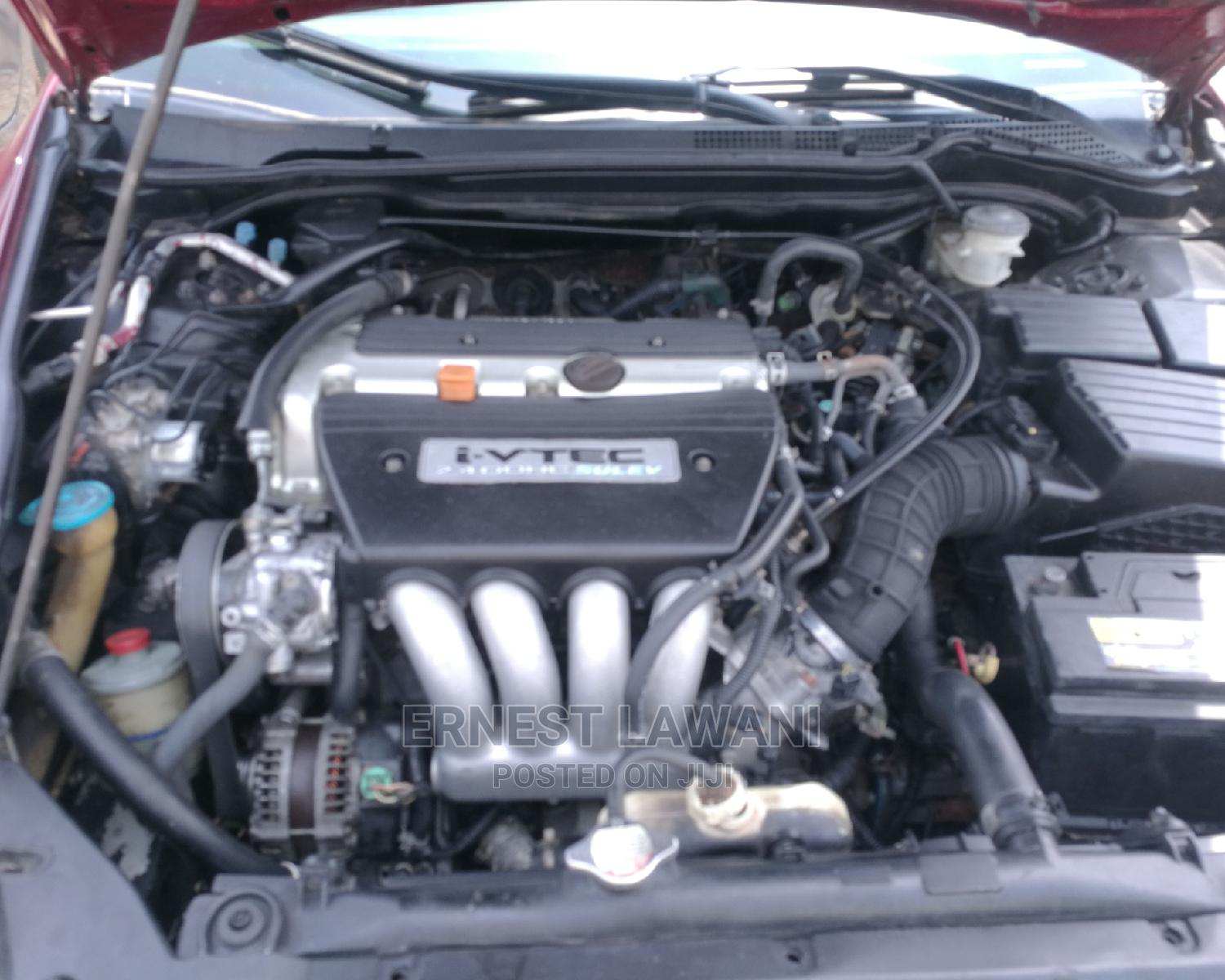 Archive: Honda Accord 2005 2.4 Type S Automatic Red