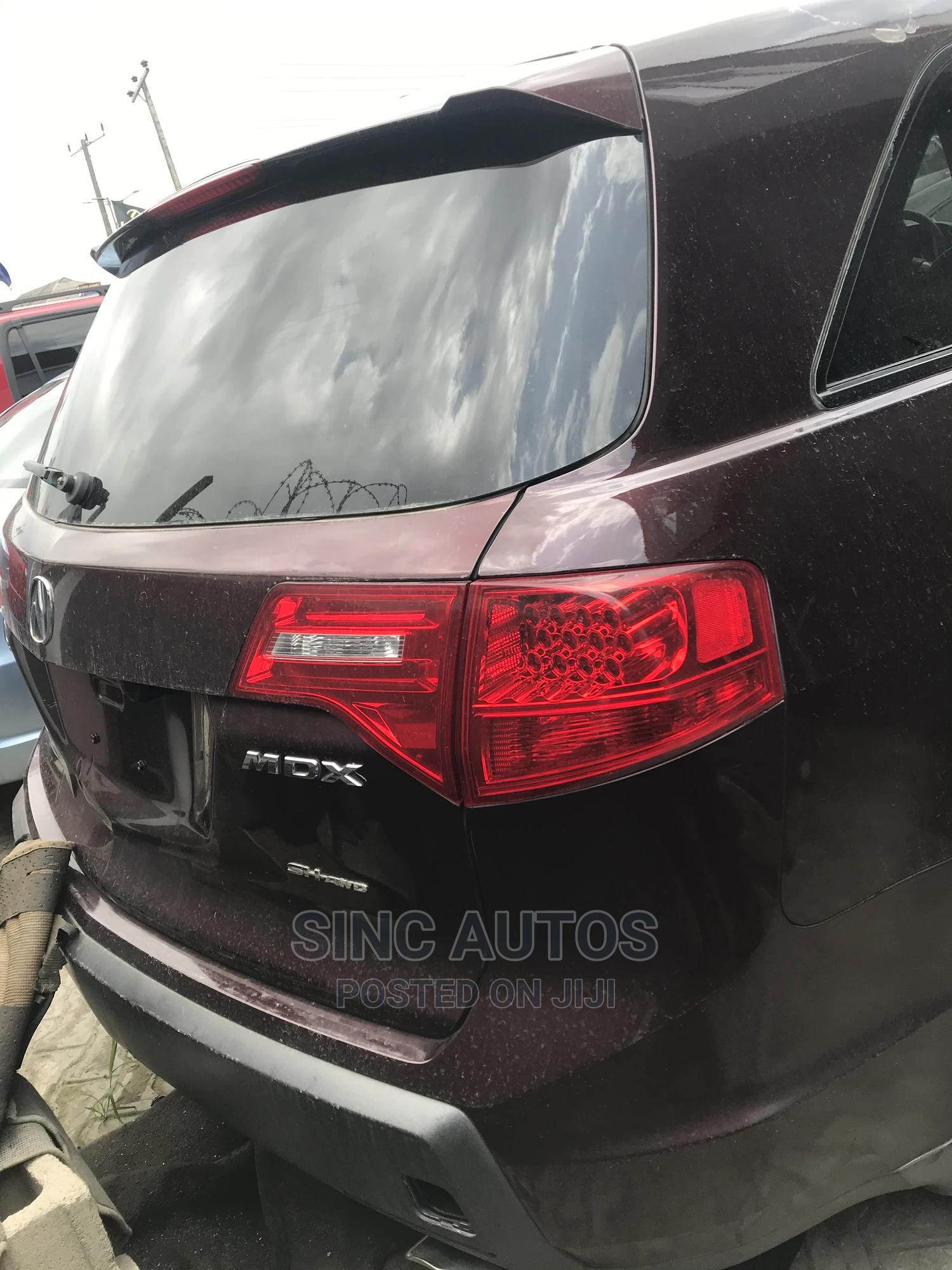 Acura MDX 2008 Red | Cars for sale in Ajah, Lagos State, Nigeria