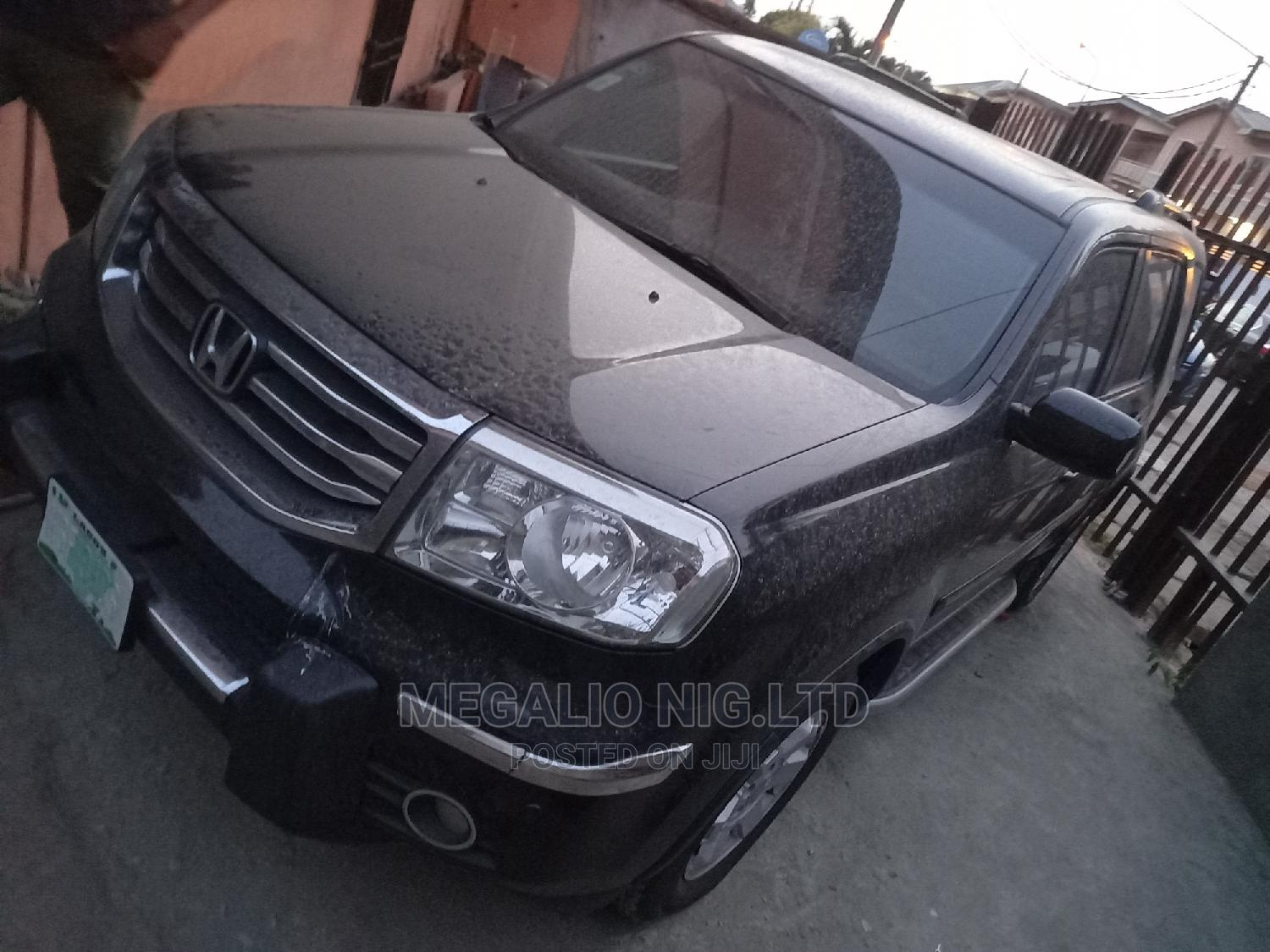 Honda Pilot 2015 Black | Cars for sale in Ikeja, Lagos State, Nigeria