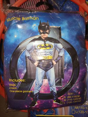 Kids Muscle Padded Batman Costume   Babies & Kids Accessories for sale in Lagos State, Amuwo-Odofin