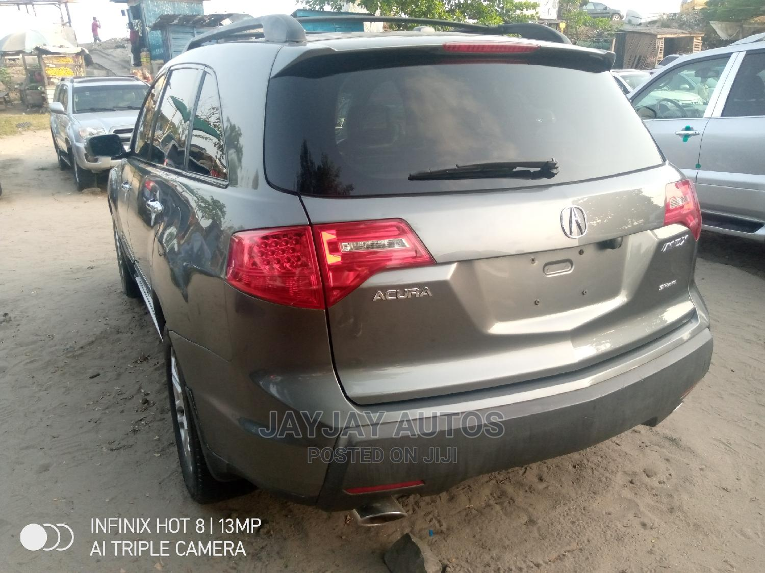 Acura MDX 2007 SUV 4dr AWD (3.7 6cyl 5A) Gray | Cars for sale in Apapa, Lagos State, Nigeria