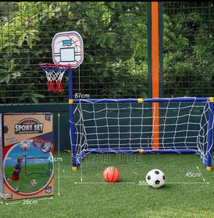 Basketball and Coal Post for Toddler   Toys for sale in Lagos State, Lagos Island (Eko)