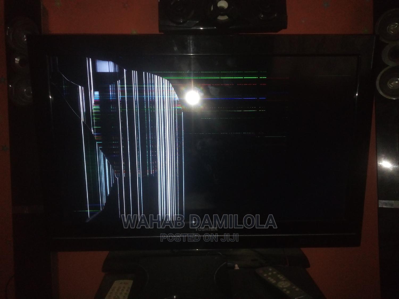 Broken Screen Television for Sale