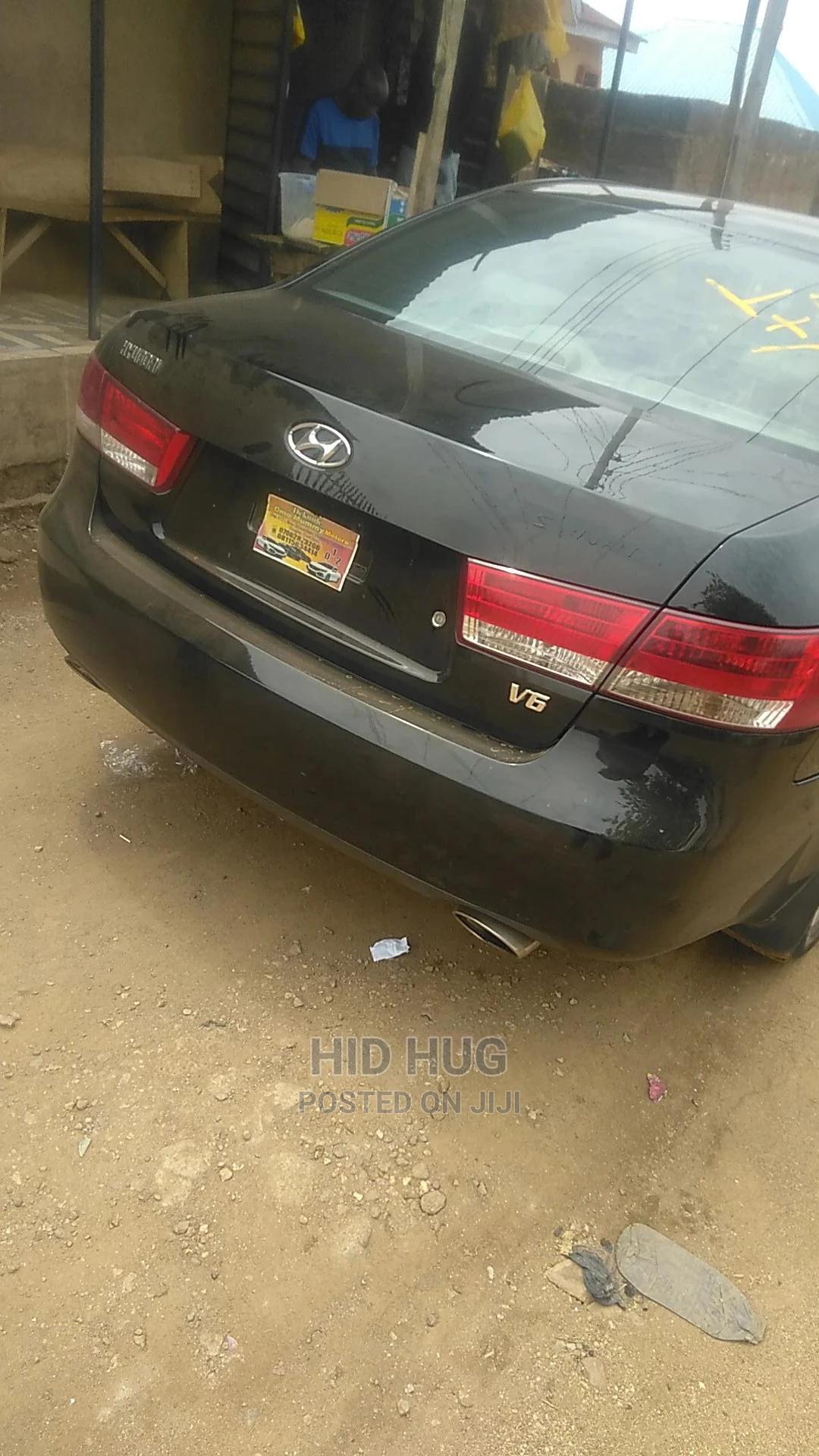Archive: Hyundai Sonata 2006 3.3 LX Black