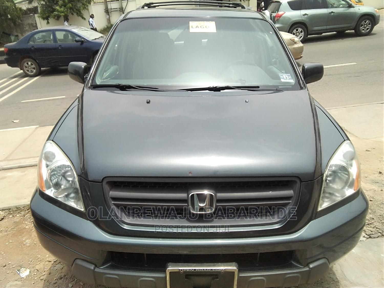 Honda Pilot 2005 Gray | Cars for sale in Ojodu, Lagos State, Nigeria