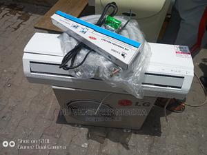 LG Whisen 1hp Split Unit Air Conditioning With Compelet Kit   Home Appliances for sale in Lagos State, Ojo
