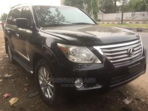 Lexus LX 2008 570 Black   Cars for sale in Lagos State, Surulere