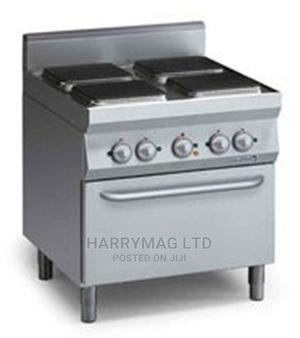 Industrial 4 Burners Electric Cooker With Oven (Italy)   Restaurant & Catering Equipment for sale in Lagos State, Ikeja