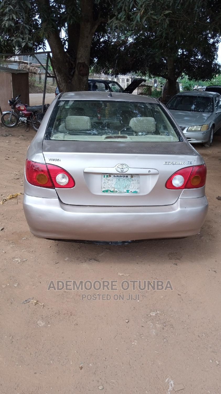 Toyota Corolla 2003 Sedan Automatic Gold | Cars for sale in Akure, Ondo State, Nigeria