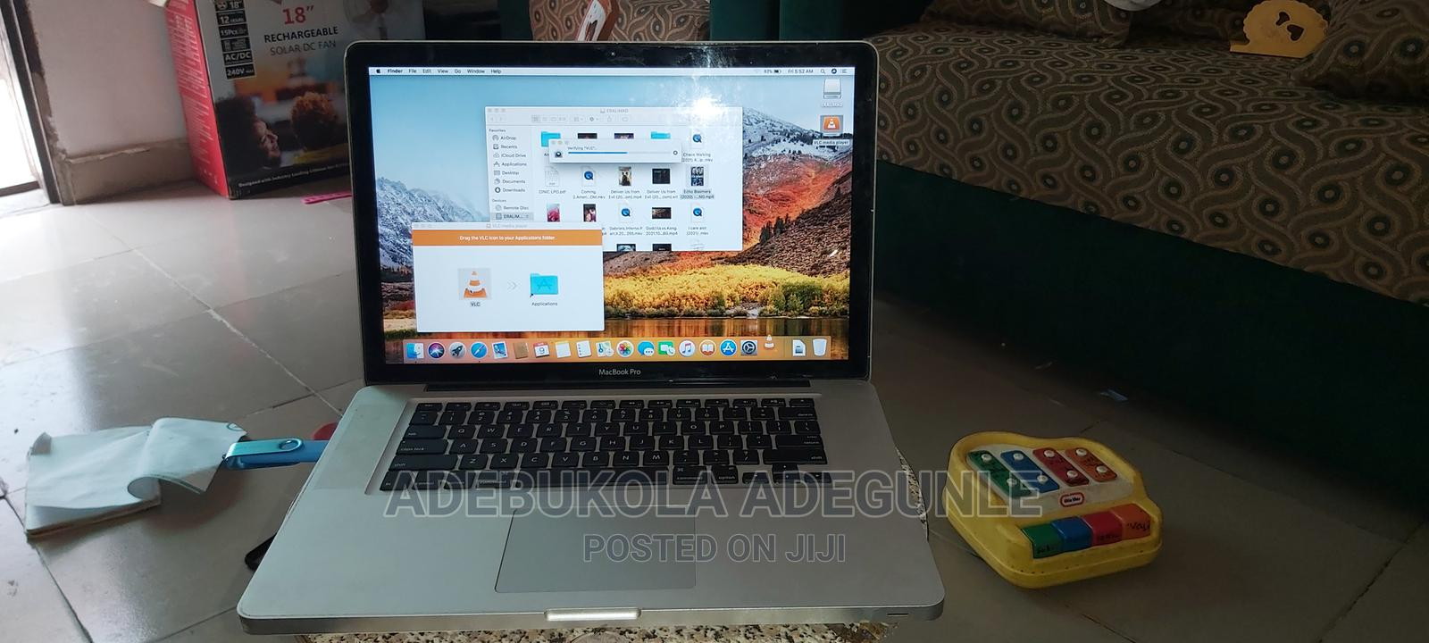 Laptop Apple MacBook 2010 4GB Intel Core I5 HDD 500GB   Laptops & Computers for sale in Abule Egba, Lagos State, Nigeria
