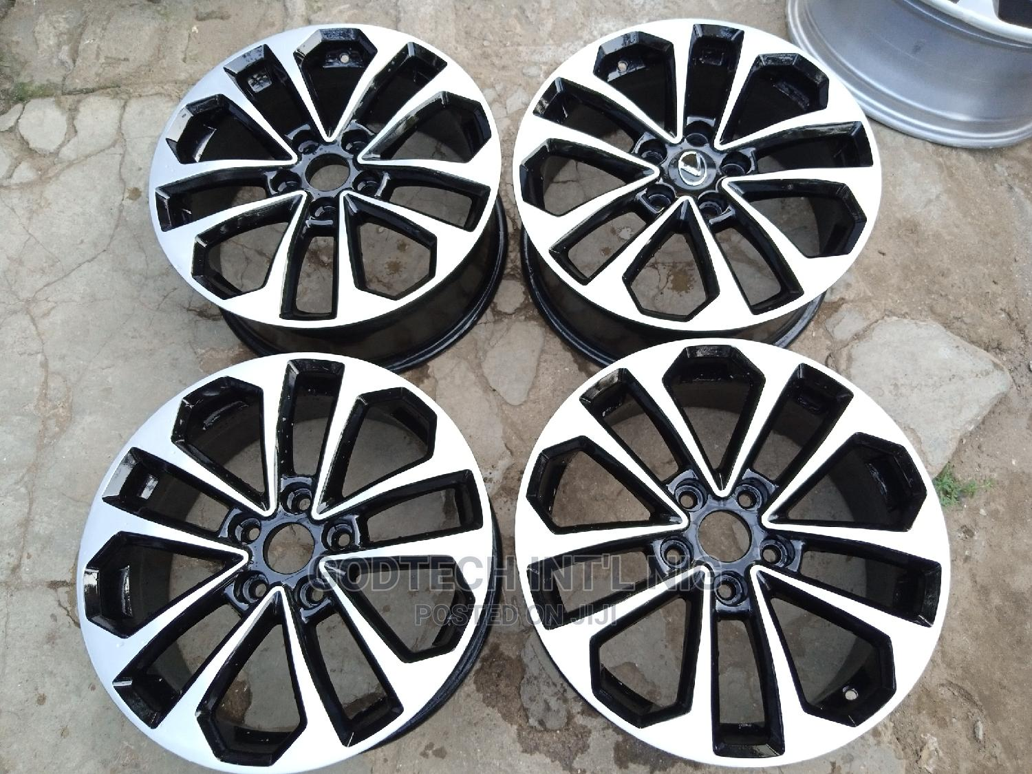 17 Alloy Wheels for Toyota   Vehicle Parts & Accessories for sale in Maryland, Lagos State, Nigeria