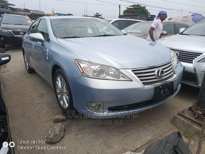 Lexus ES 2010 350 Blue | Cars for sale in Apapa, Lagos State, Nigeria