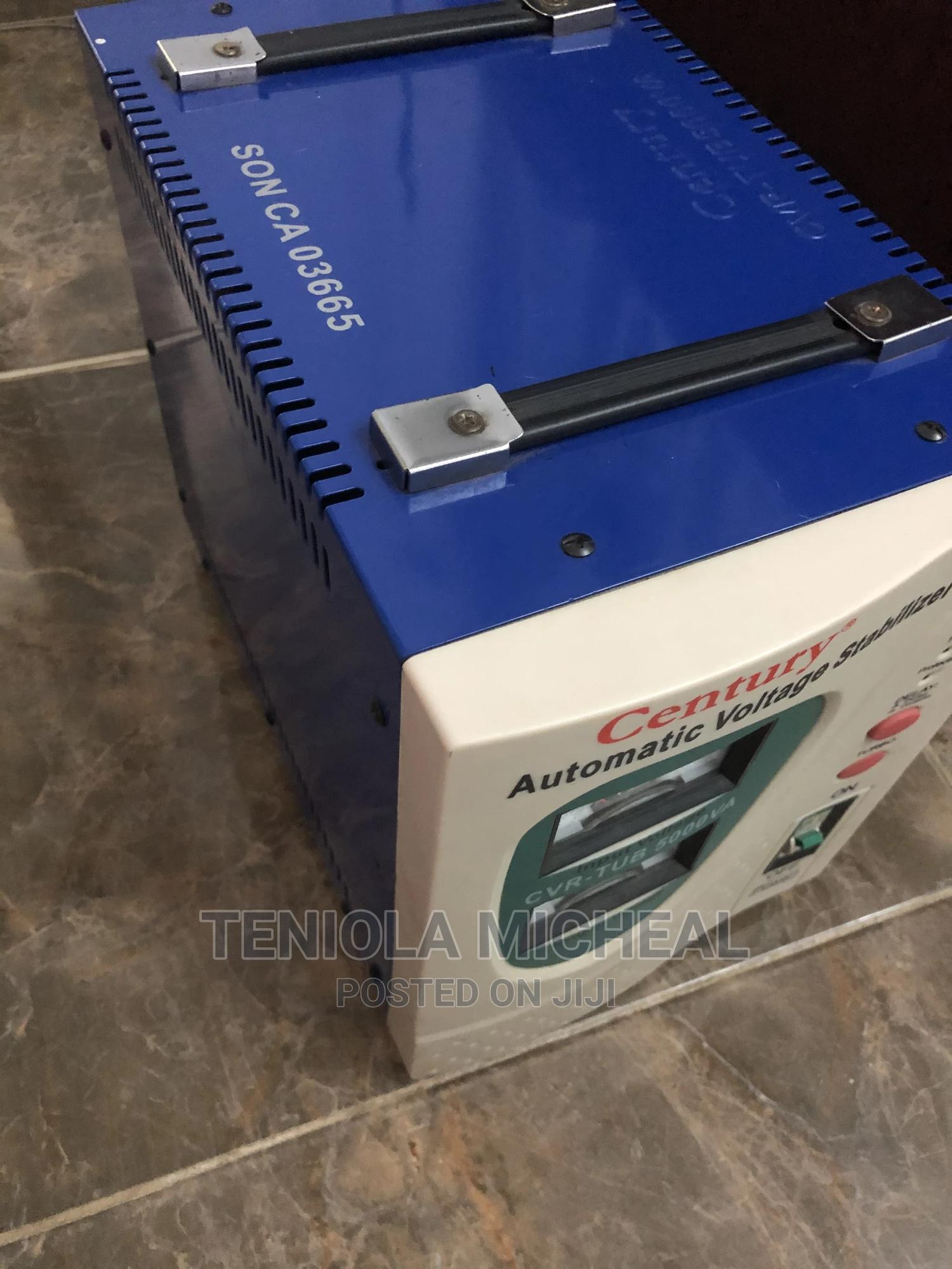 5000W Century Automatic Voltage Stabilizer | Electrical Equipment for sale in Ikorodu, Lagos State, Nigeria