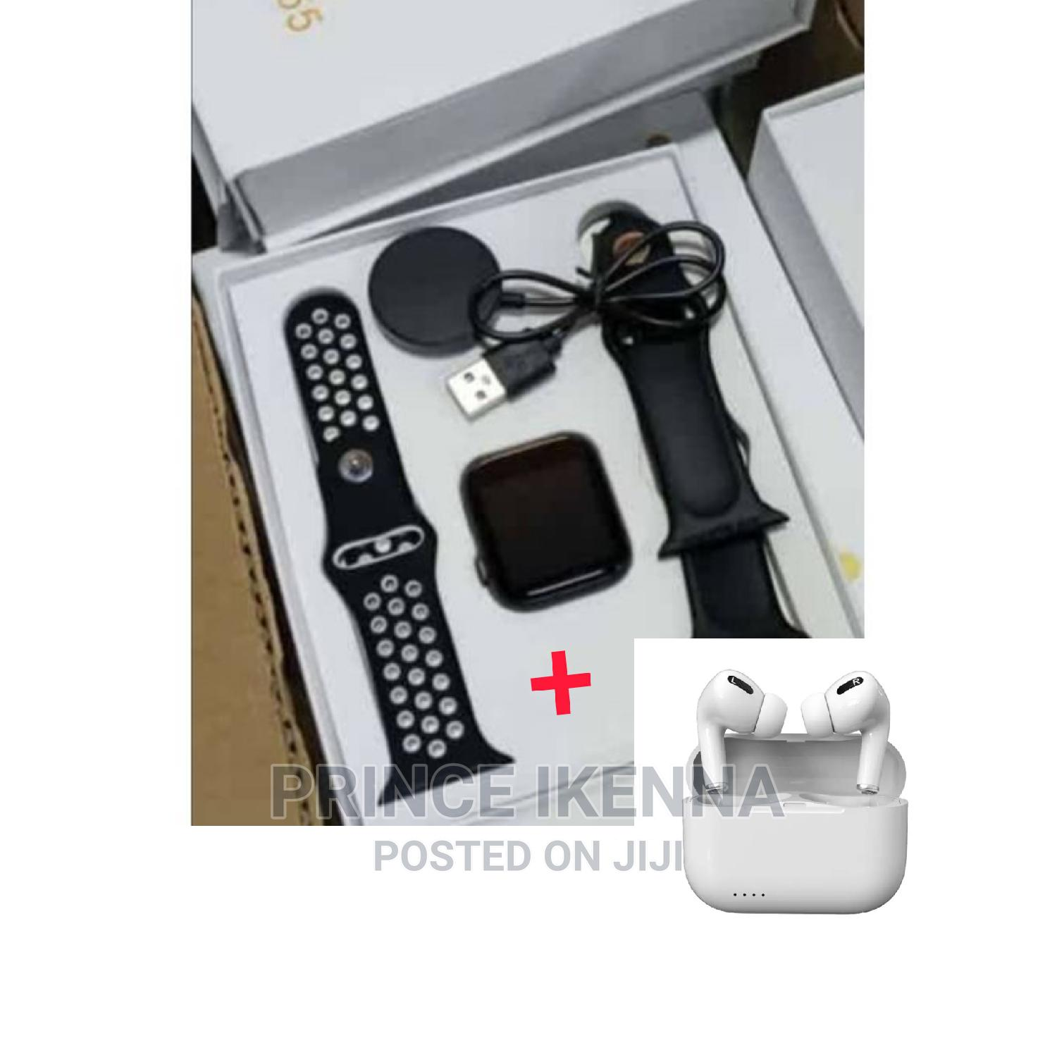 T55 Smartwatch With Apple Airpod