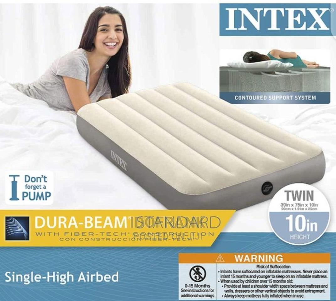 Intex Single Airbed Grey