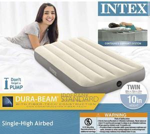 Intex Single Airbed Grey | Furniture for sale in Lagos State, Amuwo-Odofin