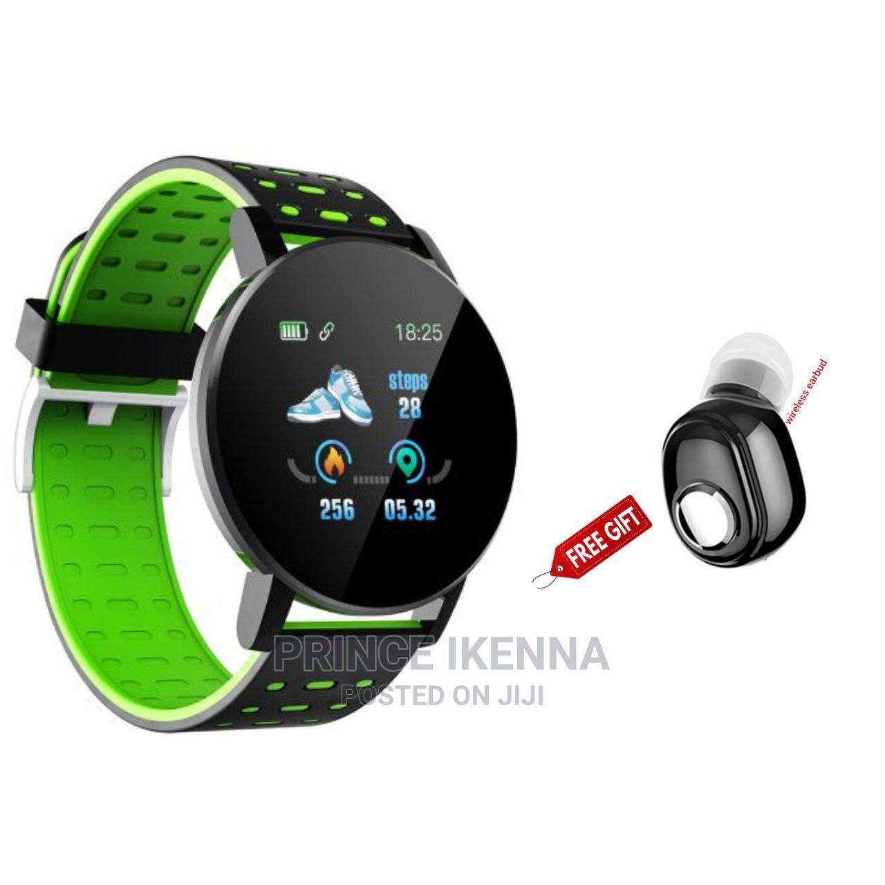 Bluetooth Smartwatch Bracelet With Free Gift