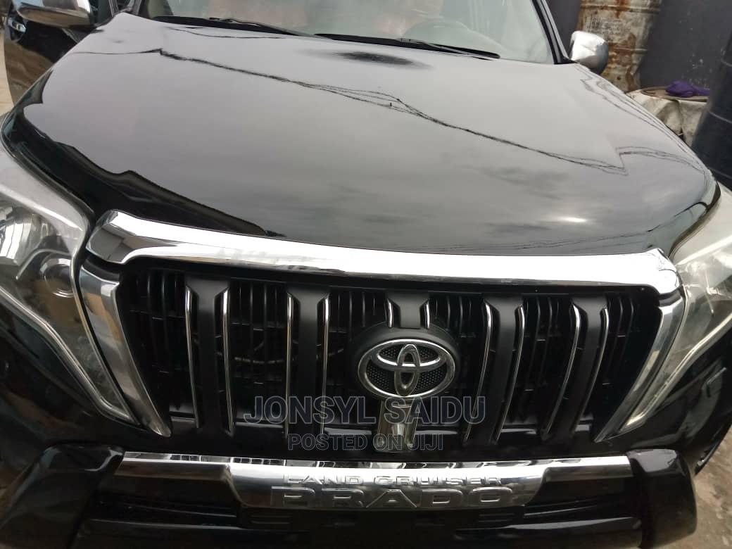 Toyota Land Cruiser Prado 2008 Black | Cars for sale in Yaba, Lagos State, Nigeria